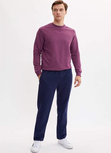 DeFacto Basic Sweatshirt Mor
